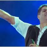 Eddy Herrera y su gusto por tocar la trompeta
