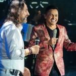 Jorge Celedón conquistó a los enamorados de Ecuador junto a Marco Antonio Solís