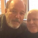 """En plena recuperación"", Rubén Blades visita a Cano Estremera"